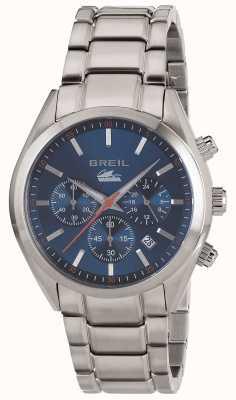 Breil Manta City Stainless Steel Chronograph Blue Dial Bracelet TW1605