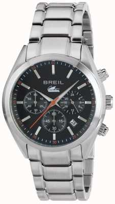 Breil Manta City Stainless Steel Chronograph Black Dial Bracelet TW1606