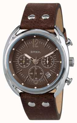 Breil Beaubourg Stainless Steel Chronograph Matte Brown Dial TW1663