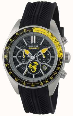 Breil Abarth Stainless Steel IP Black Chronograph Black & yellow TW1691