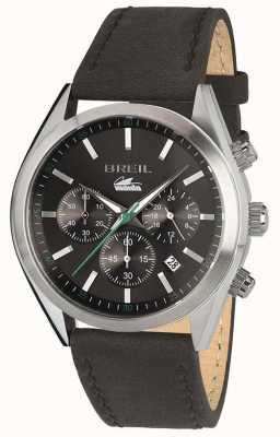 Breil Manta Sport Stainless Steel Chronograph Black Dial Bracelet TW1639