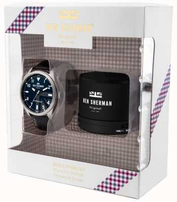 Ben Sherman Mens Carnaby Military Speaker Gift Set WB074UBG