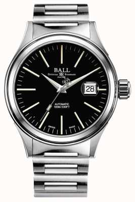 Ball Watch Company Fireman Automatic 40mm magnified date extra nato strap NM2188C-S5J-BK