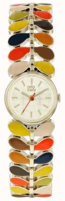 Orla Kiely Multi Coloured Laurel Bracelet OK4060