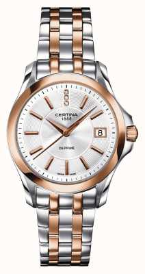 Certina Womens DS Prime Diamond Two Tone Watch C0042102203600