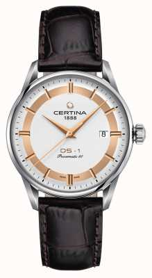 Certina Mens Ds-1 Powermatic 80 Himalaya Special Edition Watch C0298071603160