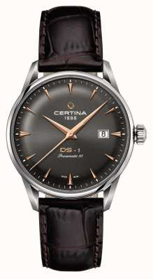 Certina Mens Ds-1 Powermatic 80 Automatic Watch C0298071608101