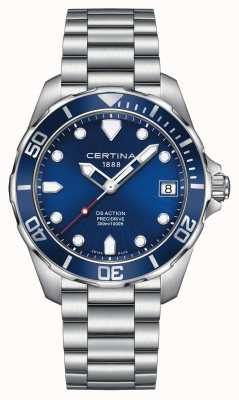 Certina Mens Ds Action Precidrive 300m Watch C0324101104100