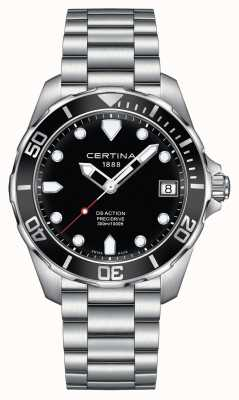 Certina Mens Ds Action Precidrive 300m Watch C0324101105100