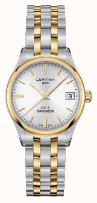 Certina Womens Ds-8 Quartz Chronometer Watch C0332512203100