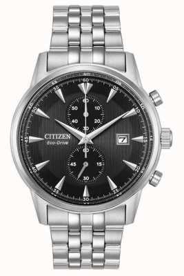Citizen Mens Chronograph Date Silver Steel Bracelet CA7000-55E