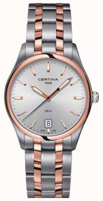 Certina | Mens DS-4 Quartz Watch | Stainless Steel Strap | C0224102203100