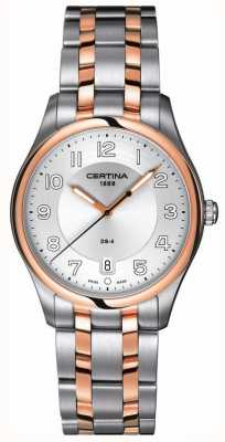 Certina Mens DS-4 Two Tone Quartz Watch C022.410.22.031.00