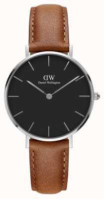 Daniel Wellington Unisex Classic Petite Durham 32mm Silver Black DW00100178
