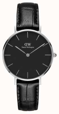 Daniel Wellington Unisex Classic Petite Reading 32mm Silver Black DW00100179