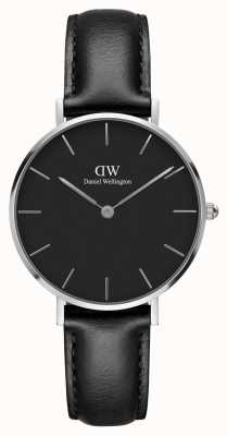 Daniel Wellington Unisex Classic Petite Sheffield 32mm Silver Black DW00100180