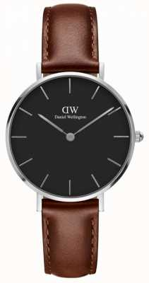 Daniel Wellington Unisex Classic Petite St Mawes 32mm Silver Black DW00100181