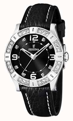 Festina Ladies Watch Black Strap F16537/2