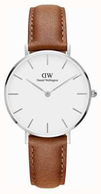 Daniel Wellington Unisex Classic Petite Durham 32mm Silver White DW00100184