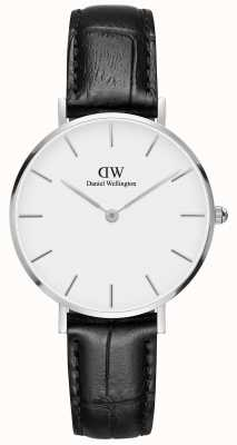 Daniel Wellington Unisex Classic Petite Reading 32mm Silver White DW00100185