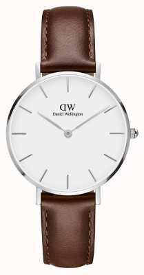 Daniel Wellington Unisex Classic Petite St Mawes 32mm Silver White DW00100187