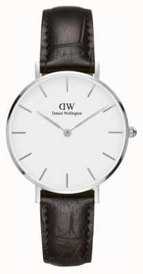 Daniel Wellington Unisex Classic Petite York 32mm Silver White DW00100188