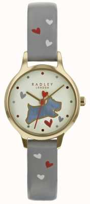 Radley Ladies 24mm Case Champ Dial Ash Pattern Leather Strap RY2630