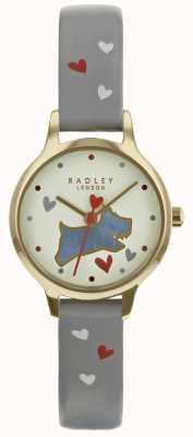 Radley Ladies 24mm Case Champ Dial Ash Pattern Leather Strap RY2630