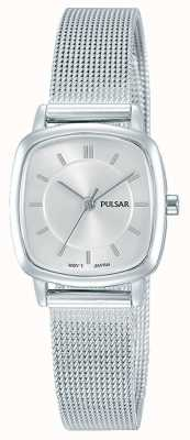 Pulsar Pulsar Womens | Silver Stainless Steel Mesh Bracelet | PH8375X1