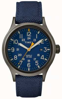 Timex Allied 40 Blue Nylon Strap/Blue Dial TW2R46200