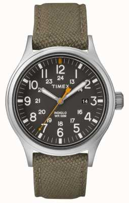 Timex Allied 40 Green Nylon Strap/Green Dial TW2R46300