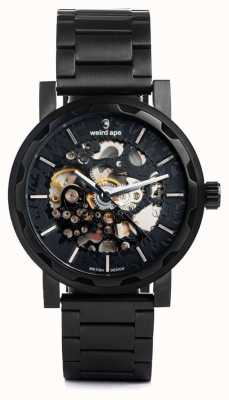 Weird Ape Kolt Automatic Black IP Bracelet And Case WA02-005514