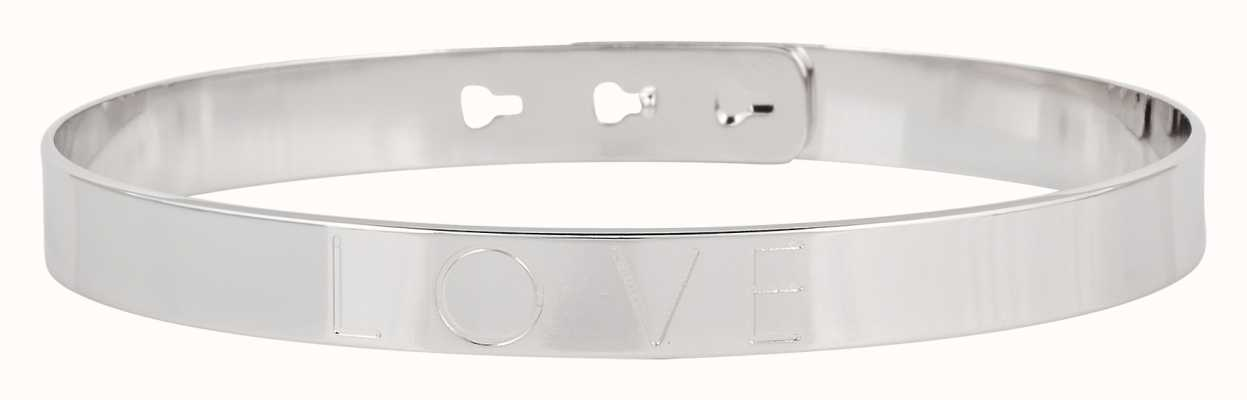 "Mya Bay Stainless Steel ""love"" Bangle JL-01.S"