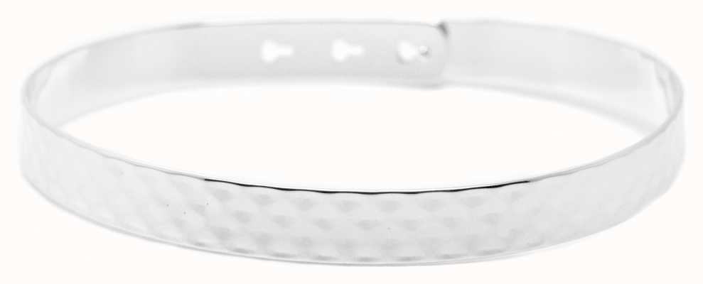 Mya Bay Stainless Steel Hammered Texture Bangle JL-07.S