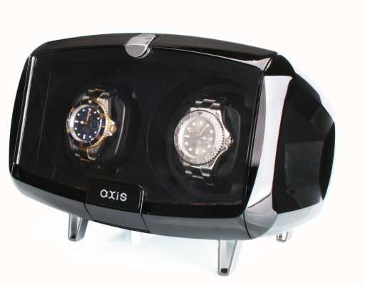 AXIS Dual Automatic 2 Watch Winder Black AXW094B