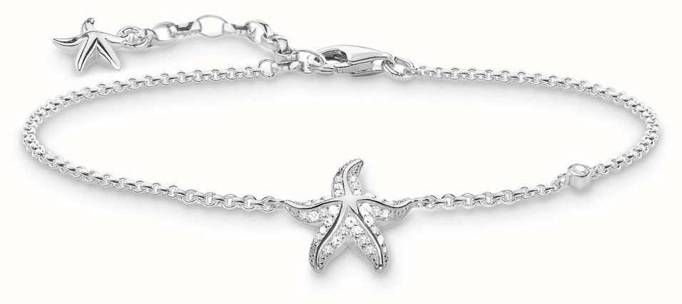 Thomas Sabo bracelet white A1756-051-14-L19v Thomas Sabo imdYEI