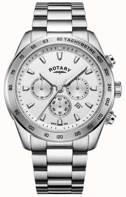 Rotary Gents Henley Chronograph Bracelet Stainless Steel GB05115/06