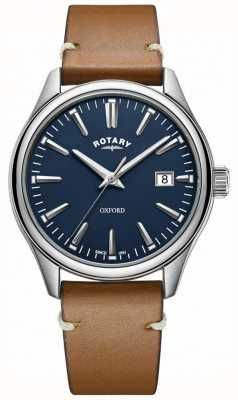 Rotary Mens oxford Strap Stainless Steel GS05092/05