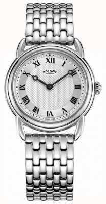 Rotary Women's Canterbury Stainless Steel Bracelet LB05335/21