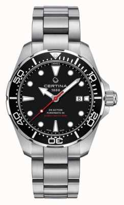 Certina Men's DS Action Diver Powermatic 80 Automatic Watch C0324071105100