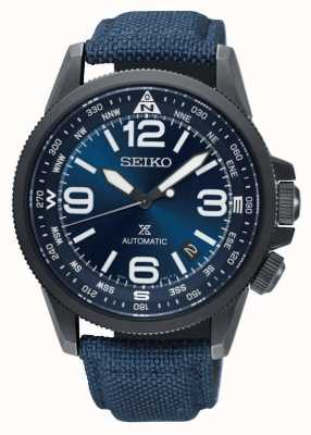 Seiko Mens Prospex Land Automatic Compass Nylon Strap Watch SRPC31K1