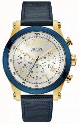 Guess Anchor Mens Sport Chronograph Gold Round W1105G1