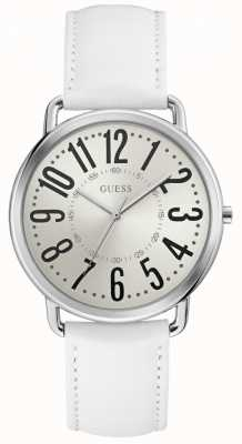 Guess Kennedy Womens Trend Analogue Silver Round W1068L1