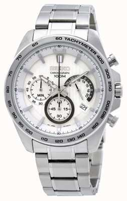 Seiko Mens Stainless Steel Chronograph Watch SSB297P1