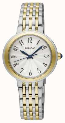 Seiko Ladies Two Tone Silver And Gold Bracelet Watch EX DISPLAY SRZ506P1EX-DISPLAY