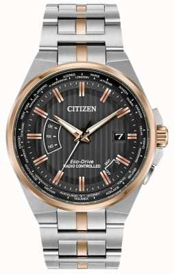 Citizen Mens World Perpetual A-T Eco-Drive CB0166-54H