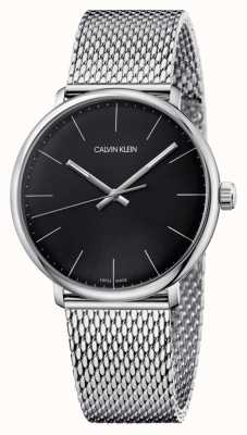 Calvin Klein Mens High Noon black dial watch K8M21121
