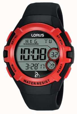 Lorus Lorus Kids Djokovic Foundation Digital Watch Black Strap R2389LX9
