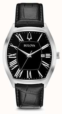 Bulova Mens Classic Ambassador Leather 96B290