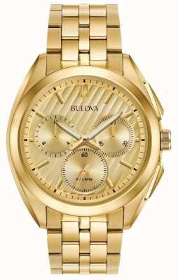 Bulova Men's Curv Chronograph Dress Progressive 97A125